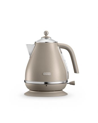 De'Longhi Icona Elements Series Set: Kettle+Toaster (Beige)
