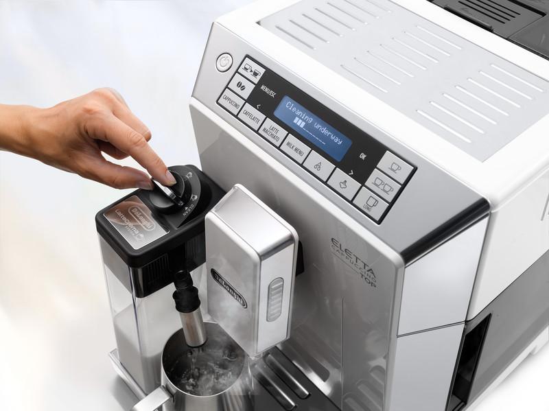 ماكينة قهوة ديلونجي اليتا توب كبتشينو اوتوماتيكية اسعارها ومميزاتها